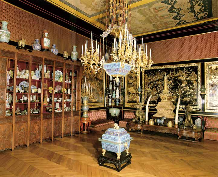 法國楓丹白露宮 Le Musée chinois 出處:《Le Musée chinois de l'impératrice Eugénie》, Réunion des Musées Nationaux,1986 年,頁24,圖版17